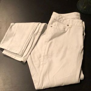 White Michael Kors Skinny jeans